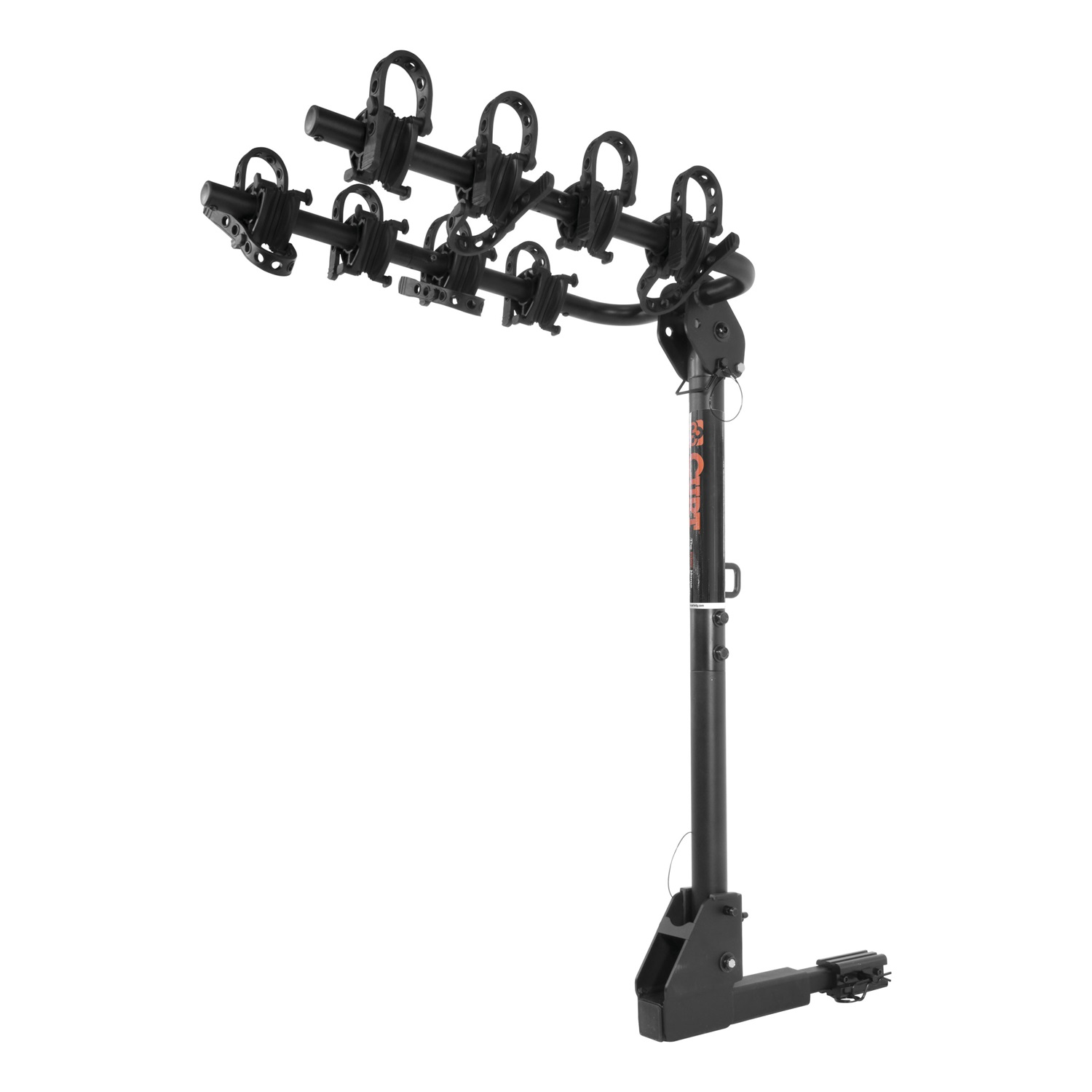 Curt Manufacturing Cur18030 Extendable Hitch Mounted Bike Rack by CURT Manufacturing