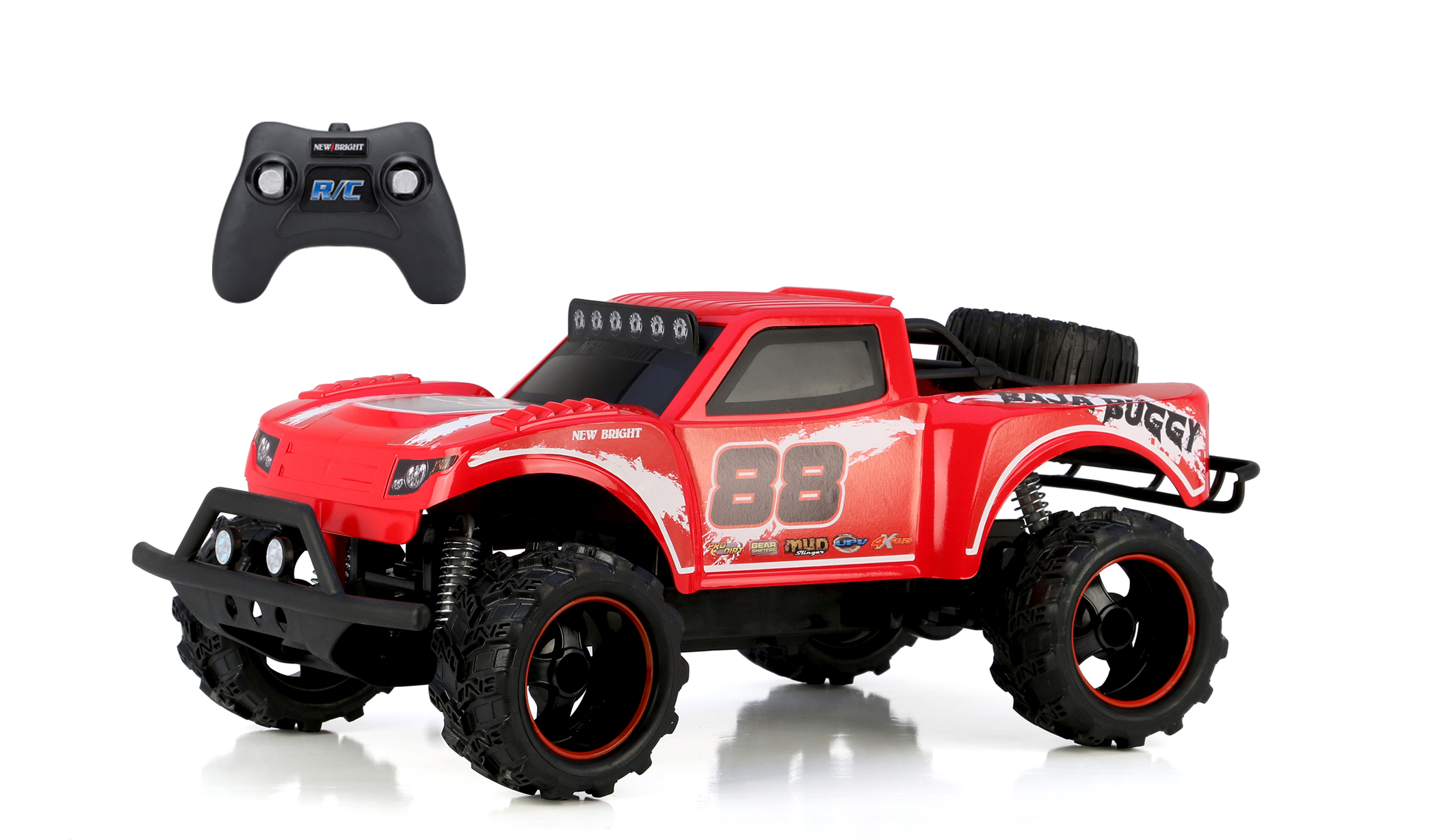 New Bright 1:14 Radio Control Baja Trophy Buggy- Red by New Bright Industrial Co., Ltd.