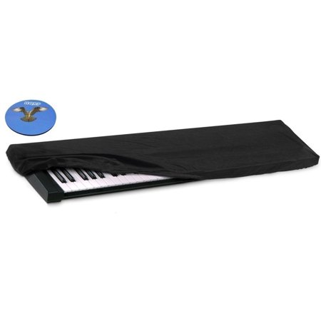 hqrp dust cover for yamaha 76 key 88 key keyboard digital