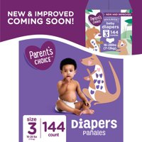 Parent's Choice Diapers, Size 3, 36 Diapers