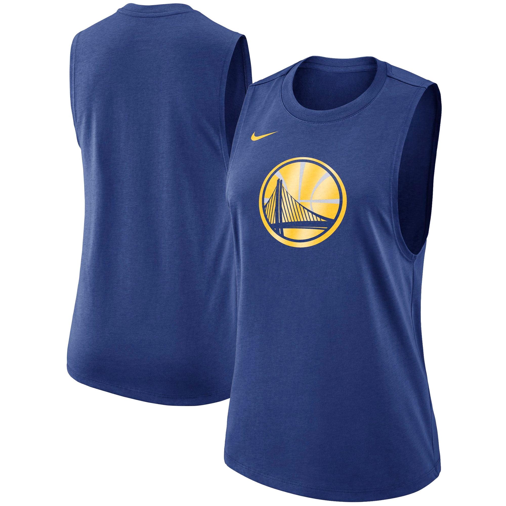 Golden State Warriors Nike Women's Primary Logo Tank Top - Royal