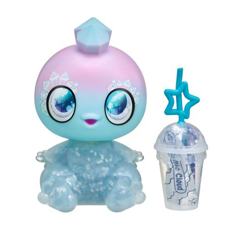 Goo Goo Galaxy™ Single Doll Pack, Stella Skygems - 5.5 inch Small Doll with Squeezer belly and DIY Slime