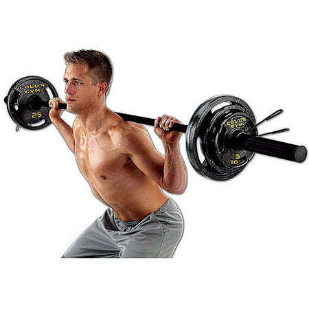 Gold S Gym Olympic Weight Set 110 Lbs