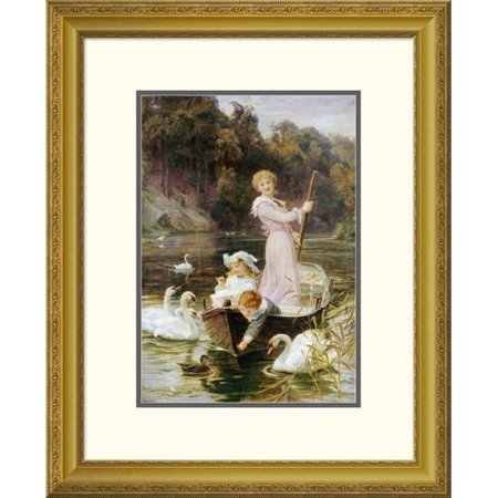 Global Gallery A Day On The River By Frederick Morgan Framed Painting Print
