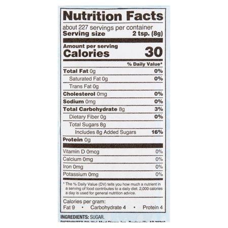Great Value Pure Granulated Sugar, 4 lb