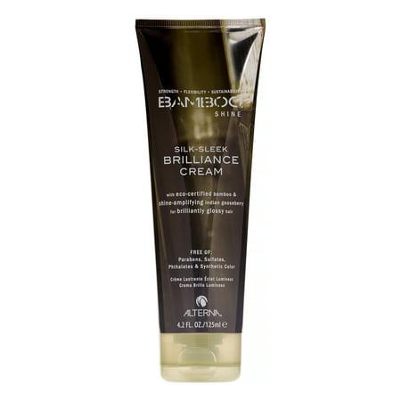 Alterna Bamboo Shine Silk-Sleek Brilliance Cream, 4.2 Fl -