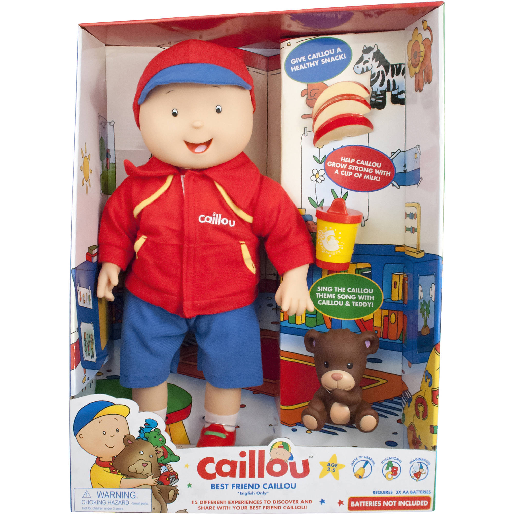 Caillou Best Friend Caillou Electronic Doll