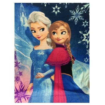 Disney's Frozen Ultra Soft Texture Twin Size Raschel ...