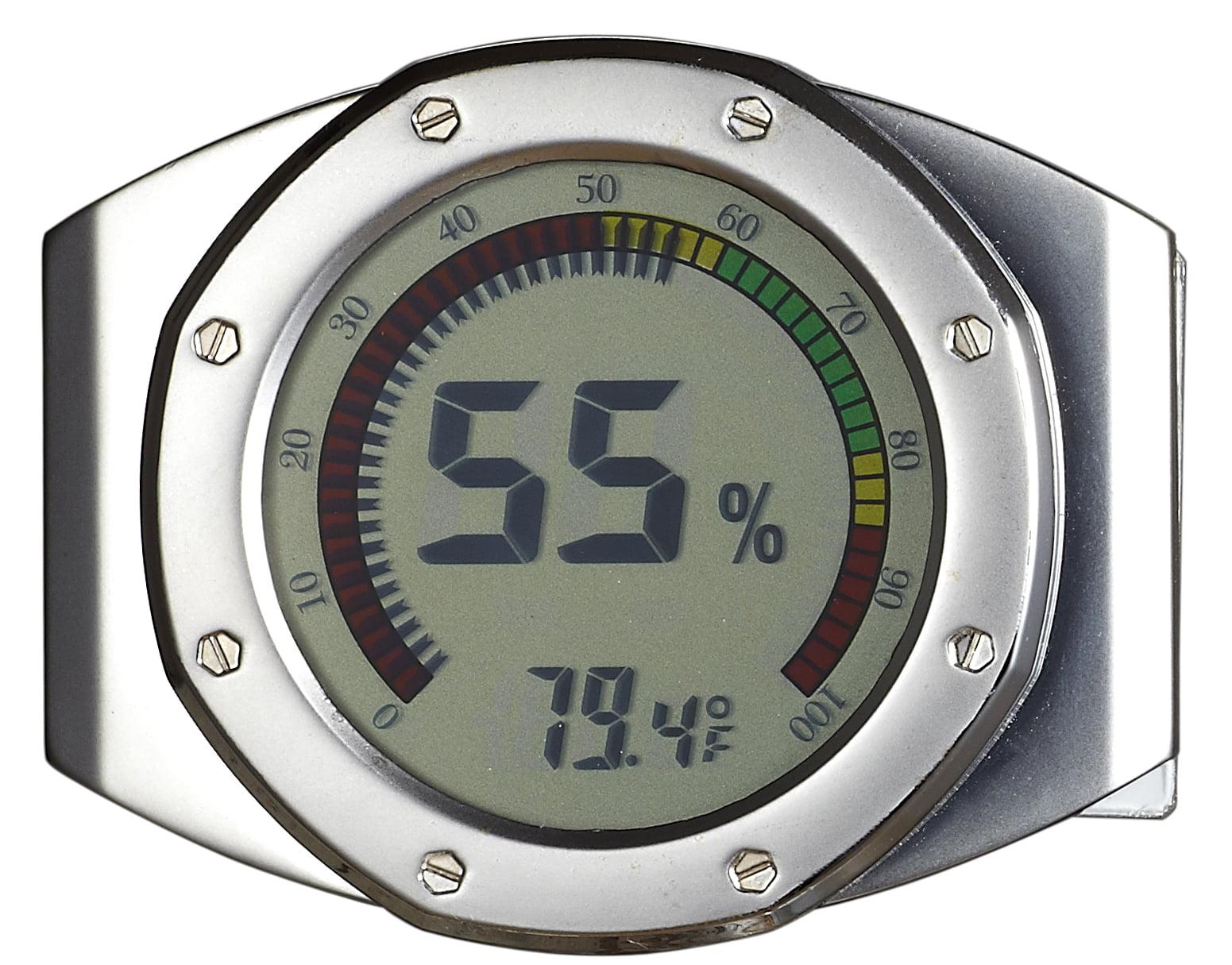 Visol UltraModern Circular Digital Hygrometer by Overstock