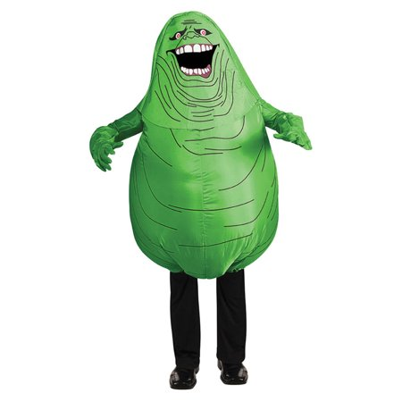 Morris Costumes Kids Unisex Inflatable Slimer Child Green Costume, Style RU881305 - Slimer Inflatable