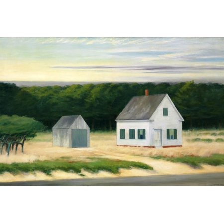 - October on Cape Cod Print Wall Art By Edward Hopper