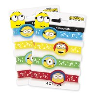 Despicable Me Minions Stretchy Bracelet Birthday Party Favors, 8ct
