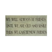 Cheungs 'We Will Always Be Friends' Print on Wood