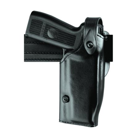 SAFARILAND Mid-Ride Level II SLS Duty Holster Finish: STX Tactical Black Gun Fit: FN Five-Seven (4.8  bbl) Hand: