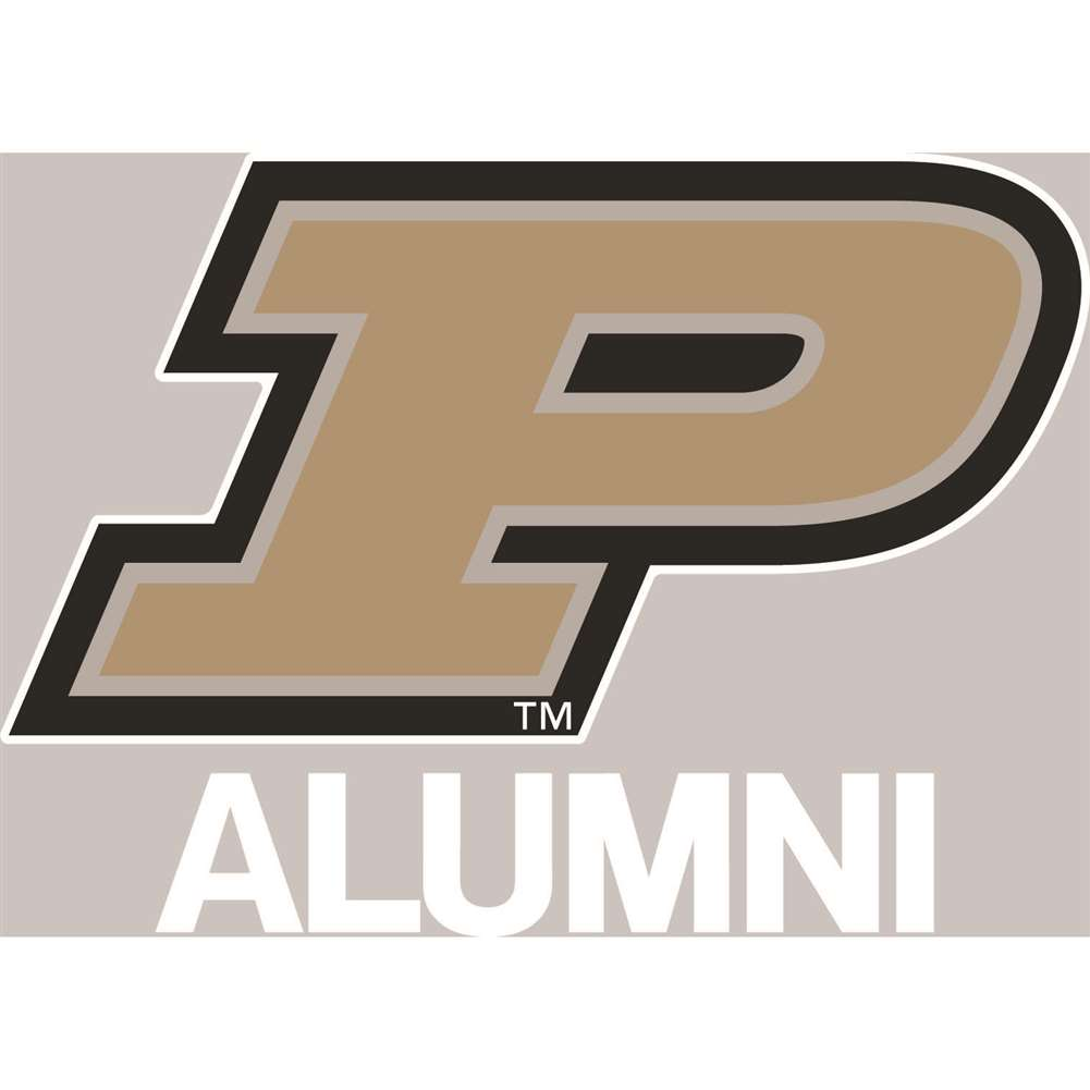 Purdue Boilermakers Transfer Decal - Alumni
