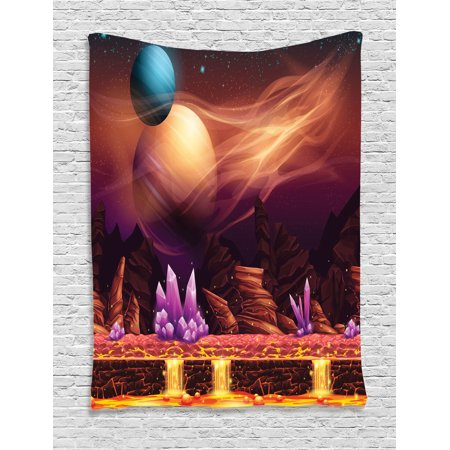 Fantasy house decor wall hanging tapestry fantasy spot for Space themed tapestry