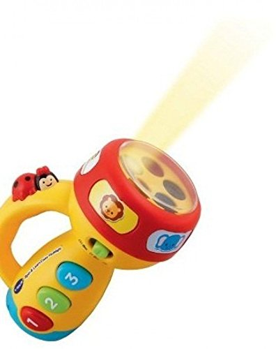 Spin and Learn Color Flashlight Toddler Learning Educational Numbers Toy, VTech Spin and... by