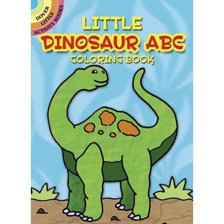 Little Dinosaur ABC Coloring Book - Tinky Winky