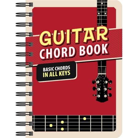 Guitar Chord Book : Basic Chords in All Keys - Walmart.com