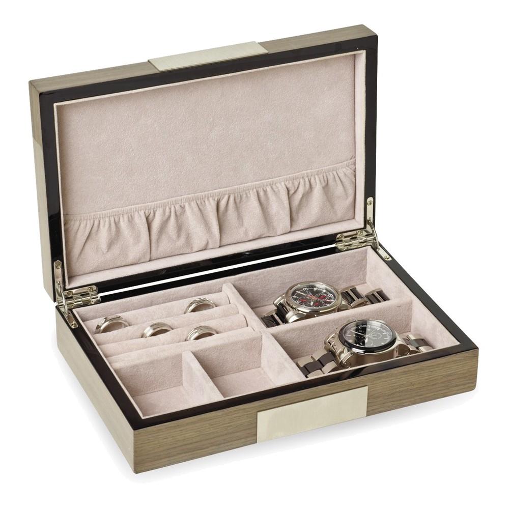 Silver Apricot High Gloss Jewelry Box