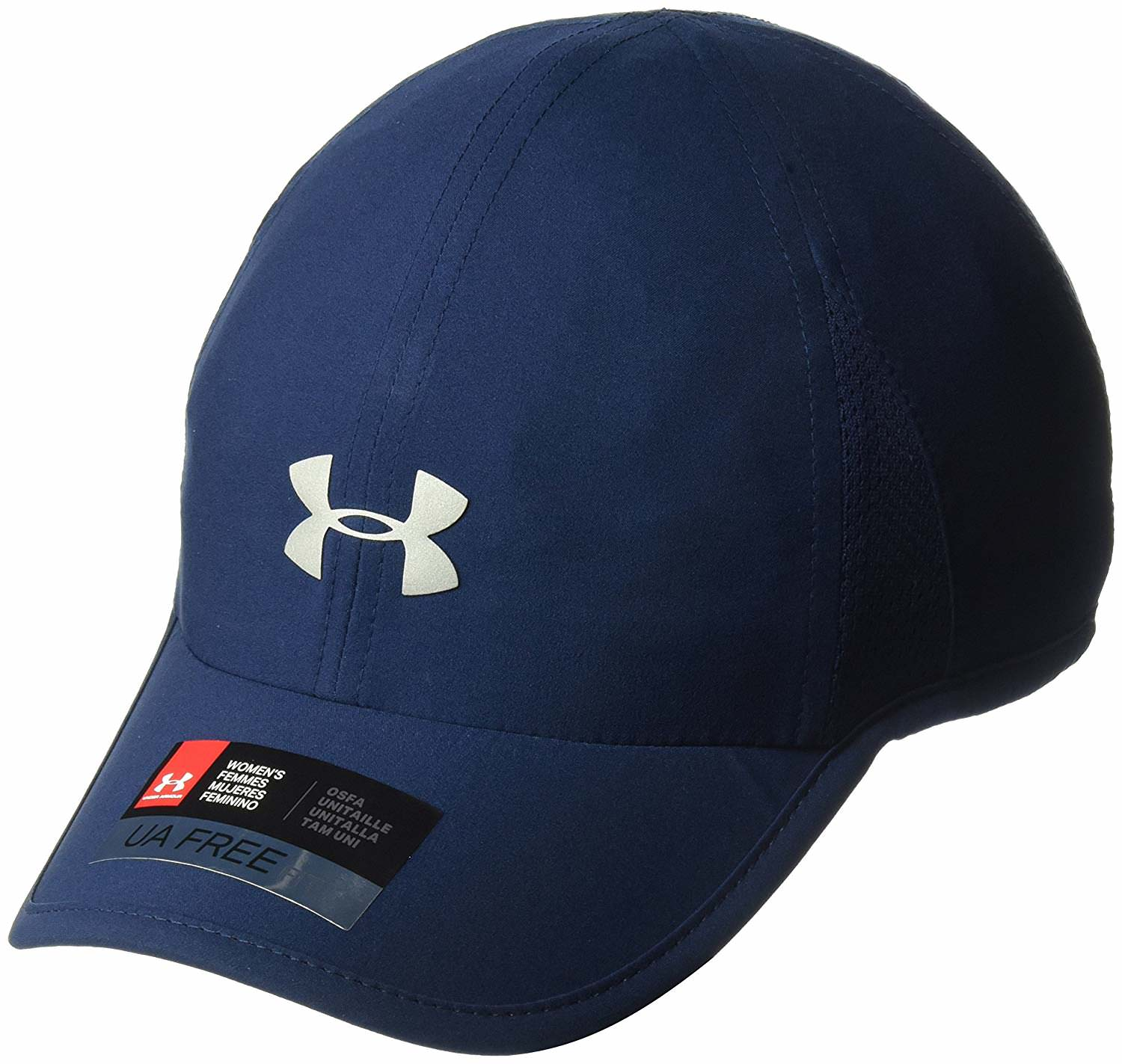 Under Armour Women's Shadow 2.0 Cap, Academy (408)/Silver, One Size