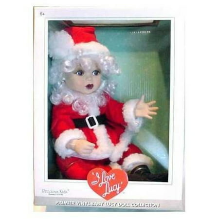 Lucy in Santa Claus Costume Collector Doll