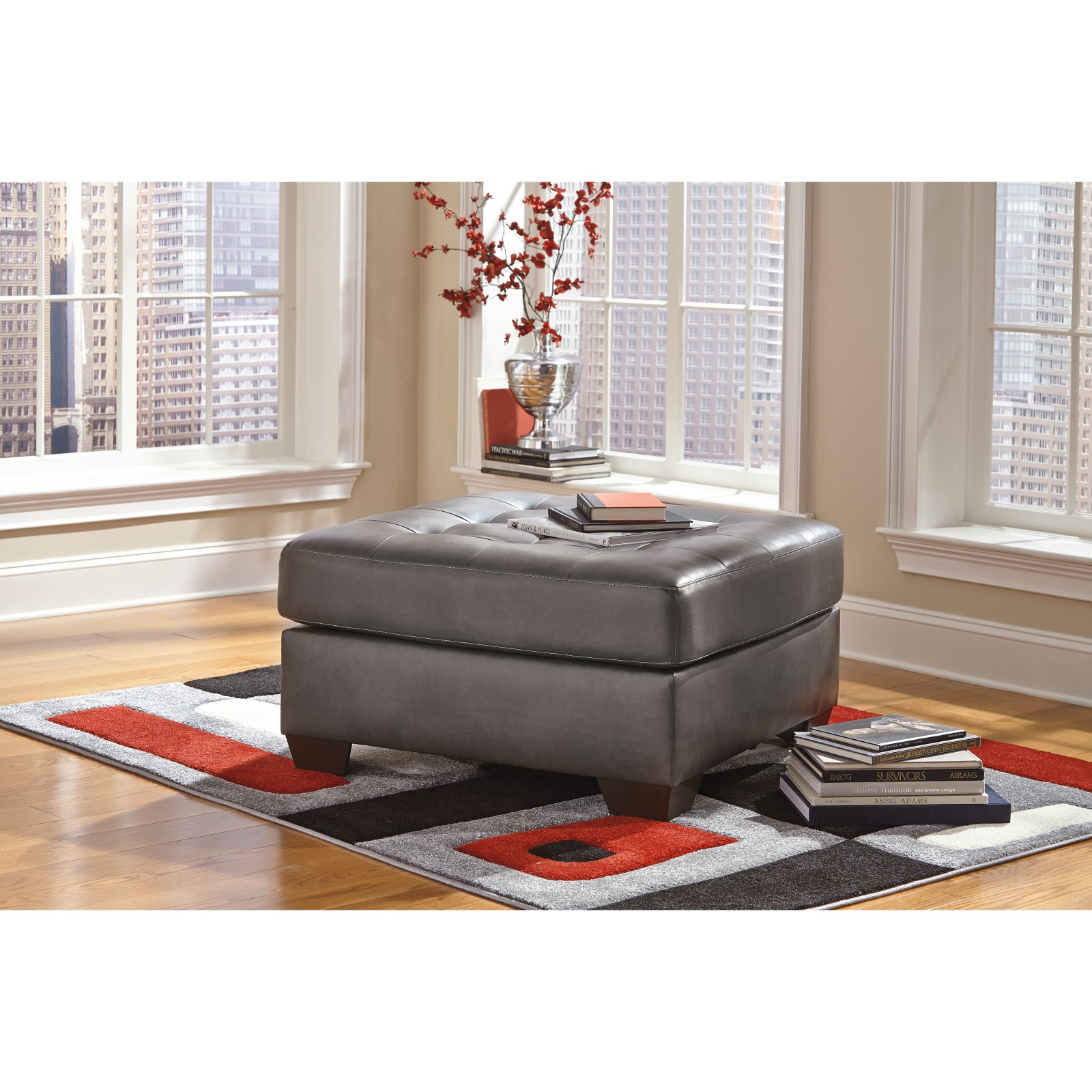 Signature Design by Ashley Alliston DuraBlend Ottoman