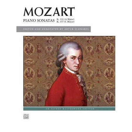 Mozart - Piano Sonatas, K.331 A Major, K.457 C minor (Alfred Masterwork Edition) for Intermediate to Advanced