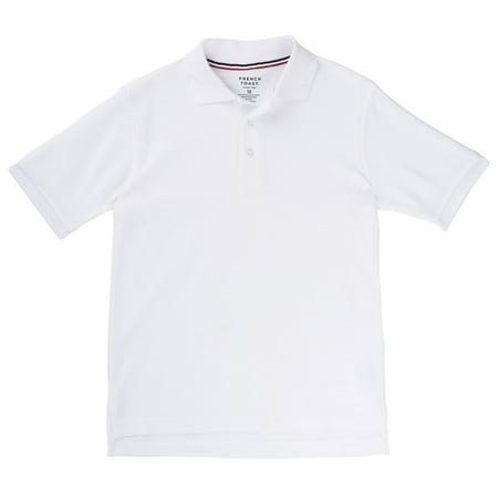 Boys Short Sleeve Pique Polo