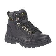 "Adtec Women's 6"" Leather Boot, Black - 6.5 M"