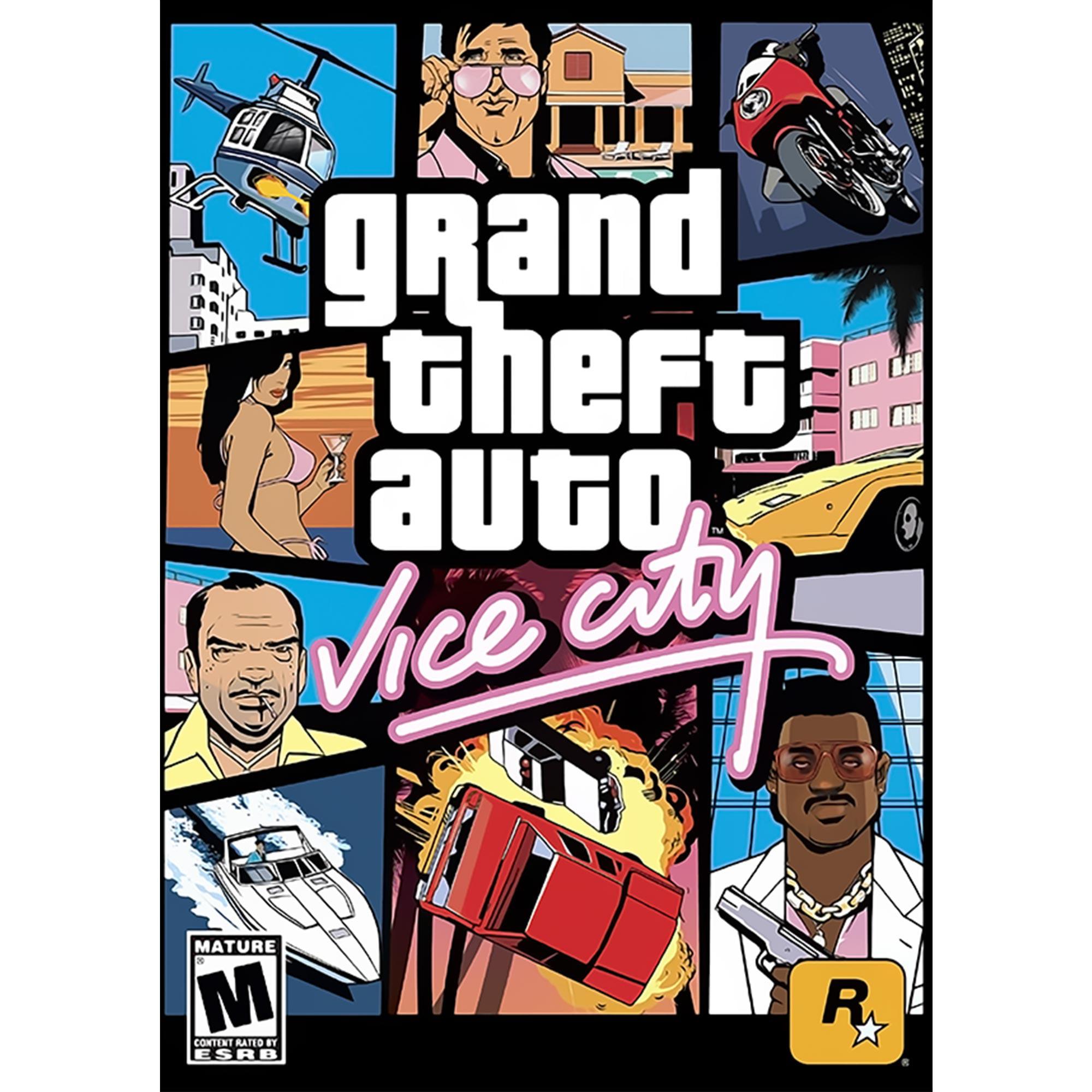 Grand Theft Auto: Vice City (PC)(Digital Download)