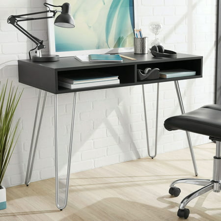 Mainstays Hairpin Writing Desk, Multiple Finishes