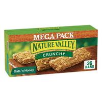 Nature Valley Granola Bar, Crunchy Granola Bar, Oats 'N Honey 36 bars