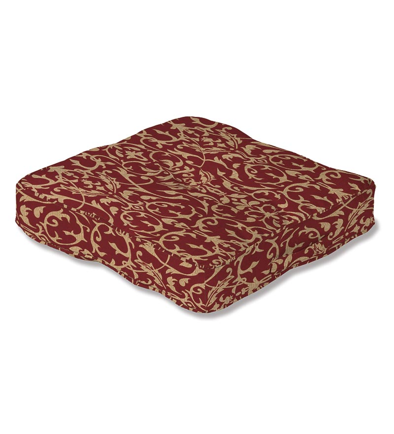 "Outdoor Floor Cushion w/ Carrying Handle 20"" Sq."