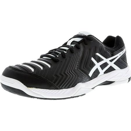 - Asics Men's Gel-Game 6 Black / White Low Top Tennis Shoe - 13M