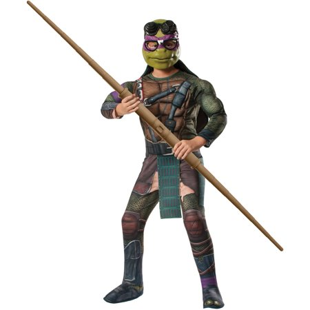 Teenage Mutant Ninja Turtles Donatello Child Halloween Costume - Kids Teenage Mutant Ninja Turtle Costume