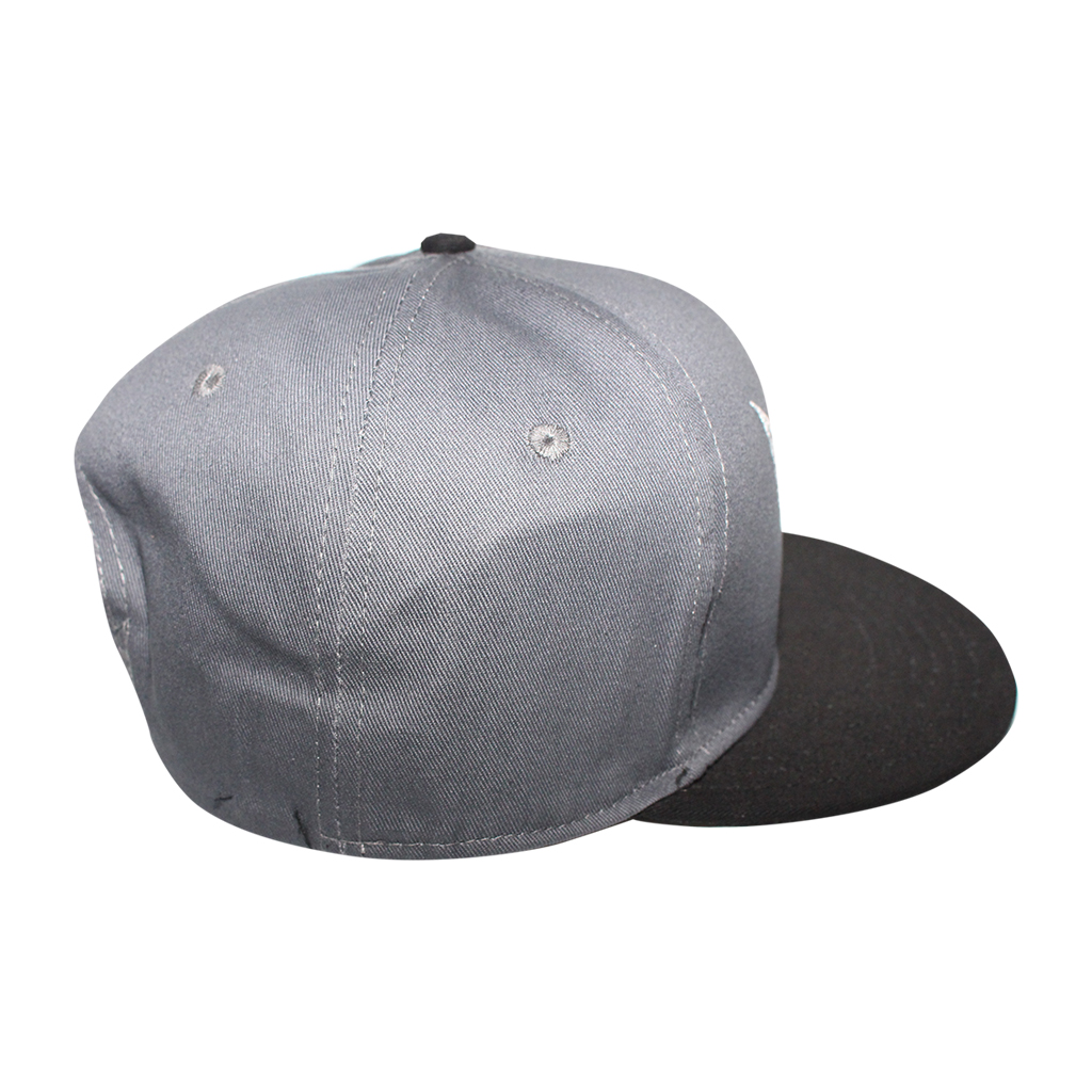 tapout licensed grey snapback hat