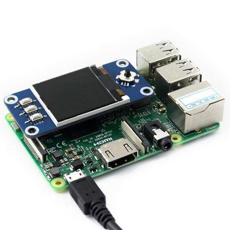 outdoorline 128x128 1.44inch LCD Display HAT SPI Expansion Board for Raspberry Pi Zero/Zero W/Zero WH/2B/3B/3B+ - image 3 of 7