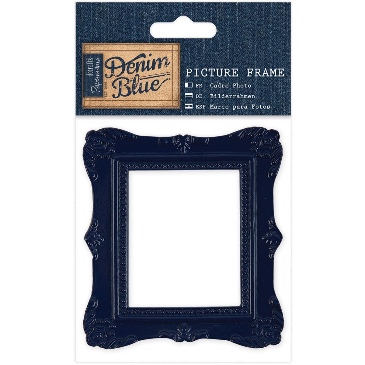 Papermania Denim Blue Picture Frame- - Walmart.com