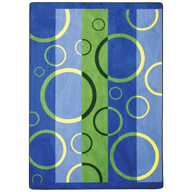 Joy Carpets 1641G-02 10 ft. 9 in. x 13 ft. 2 in. Under Water Summer Solstice... by Joy Carpets