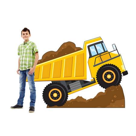 Dump Truck Construction Standee