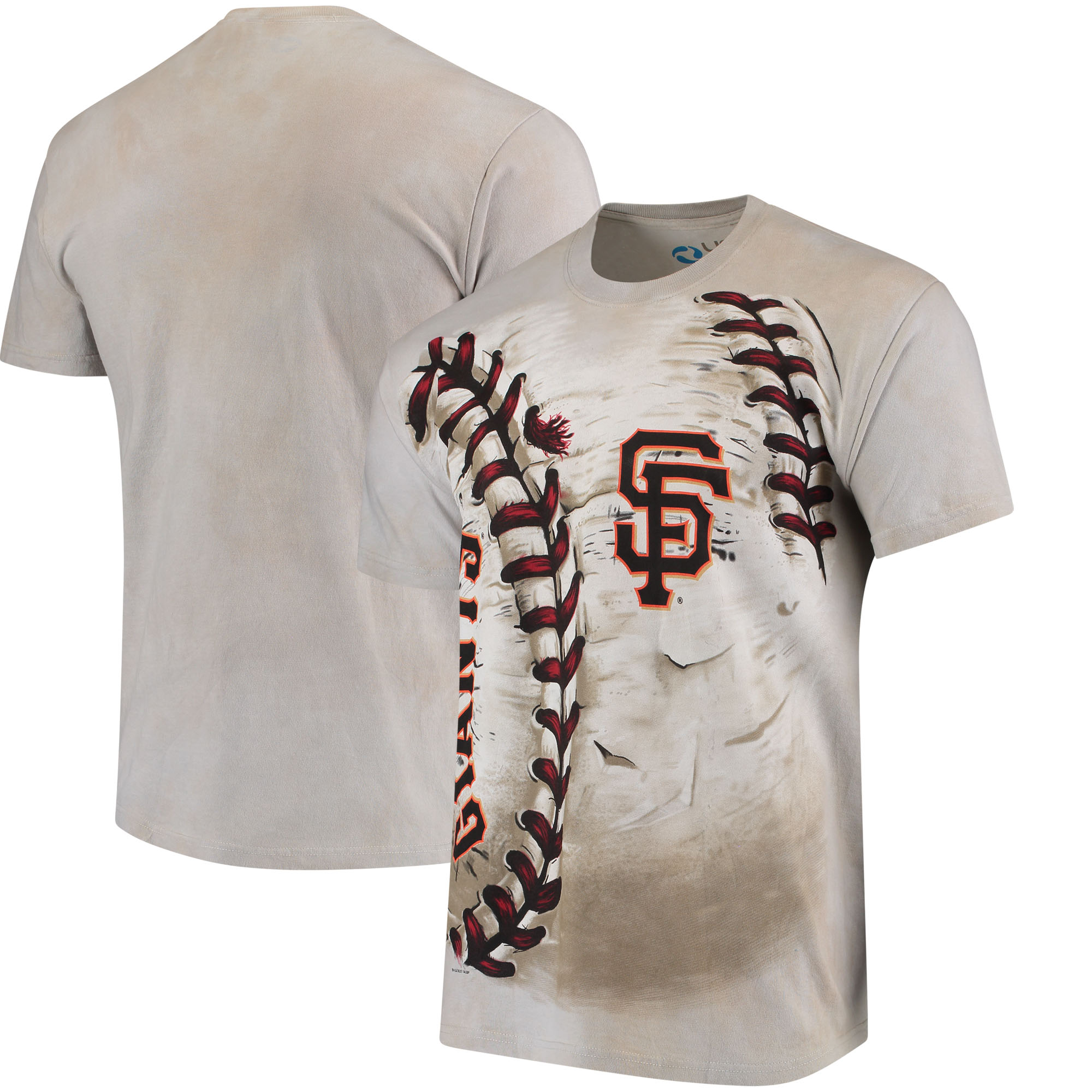 San Francisco Giants Hardball Tie-Dye T-Shirt - Cream