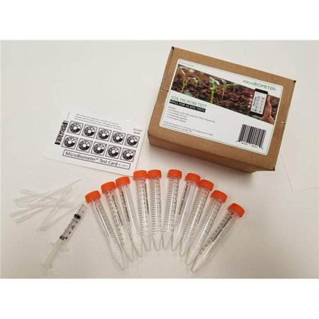 Microbiometer Soil Test Kit Refills