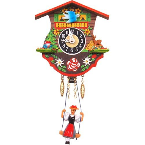 Flora & Fauna Cuckoo Clock by Black Forest