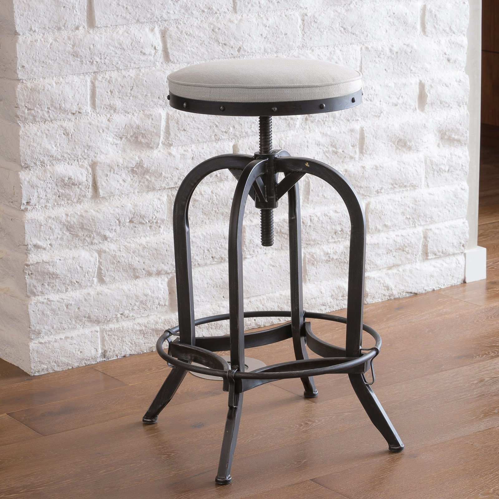 Desmond Adjustable Bar Height Stool