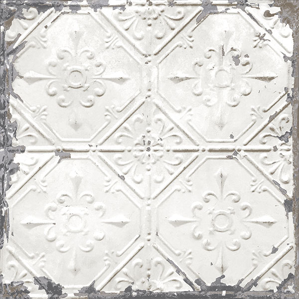 NuWallpaper Vintage Tin Tile Peel & Stick Wallpaper