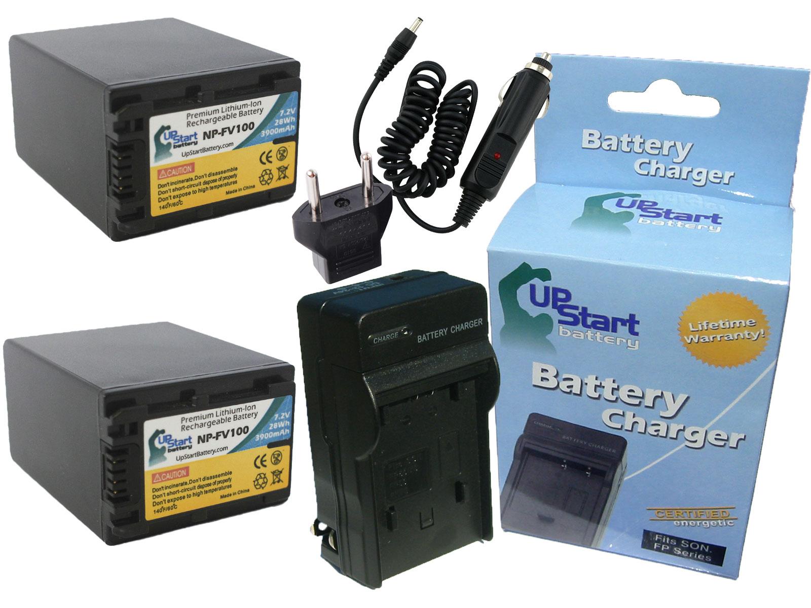 Dual Channel Battery Charger for Sony HDR-TD10 HDR-TD30V Handycam Camcorder HDR-TD20V