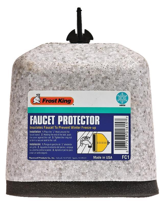 FROST KING FC1 Faucet Cover,Foam,1 In - Walmart.com