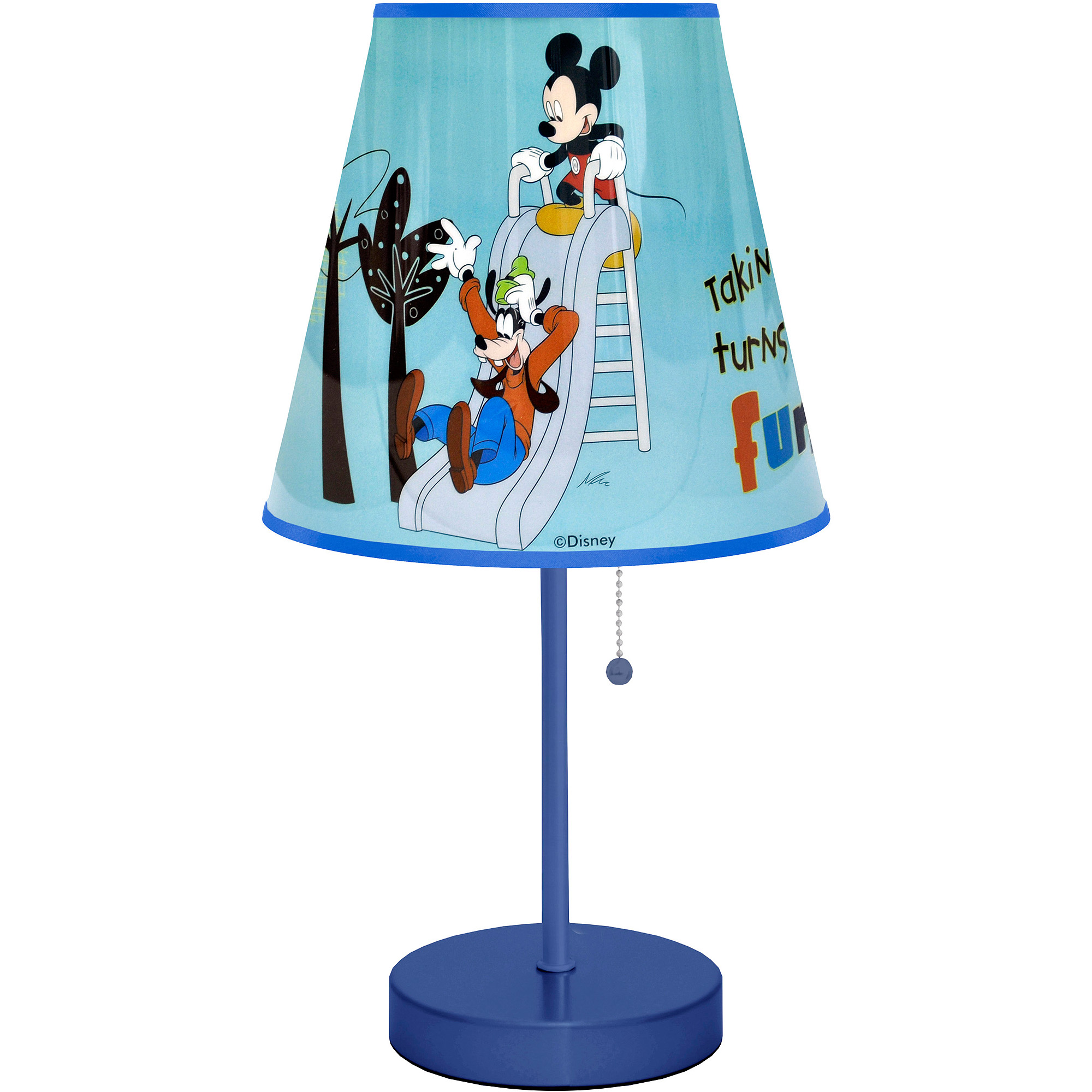 Disney Mickey Mouse Table Lamp, Blue