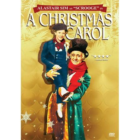 Alister Sims Christmas Carol.A Christmas Carol Dvd